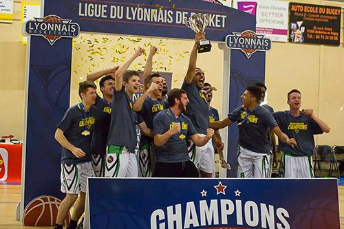 U20 Masculins, champions Région Groupe A 2017-2018