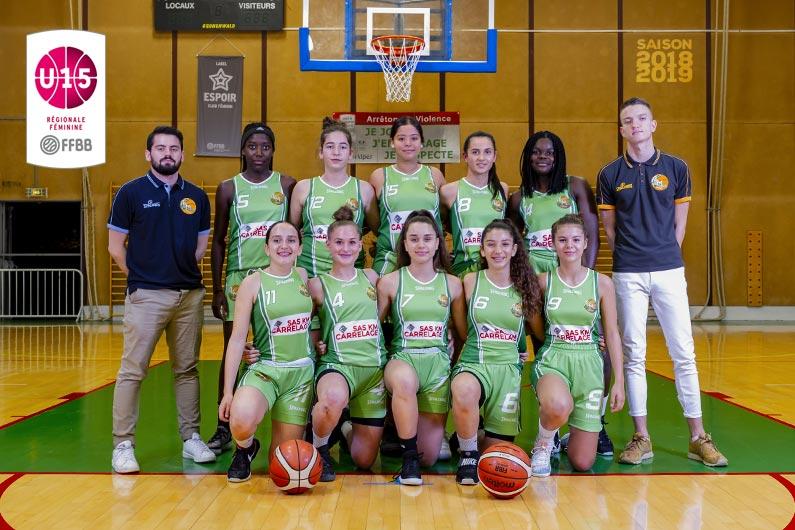 Equipe U15F ALM 2018-2019
