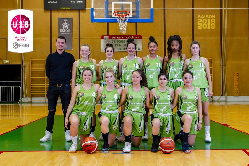 Equipe U18F ALM 2018-2019