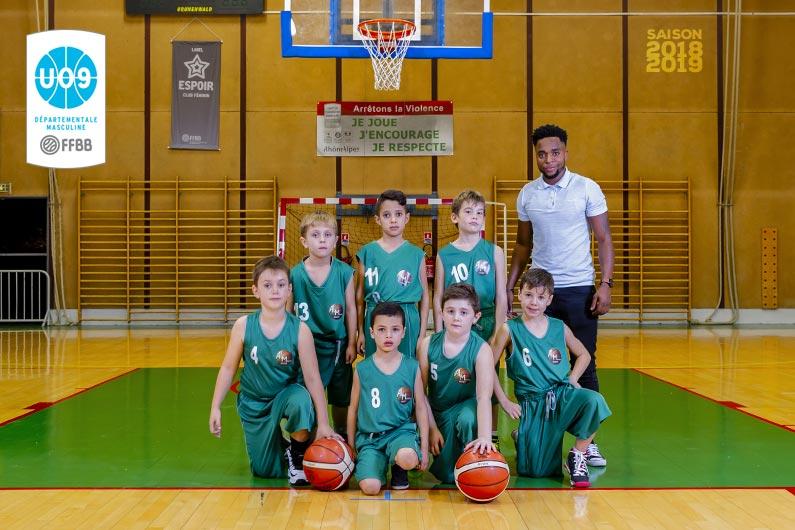 Equipe U9M ALM 2018-2019